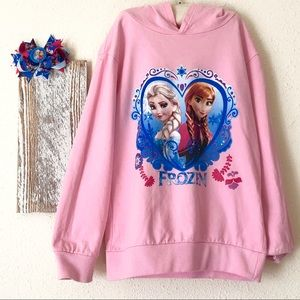 Frozen Hooded Shirt